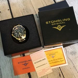 Stuhrling Original Professional Dive Watch